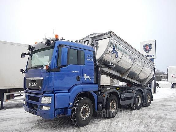 MAN TGS 35.540 8x4, asfaltbil,