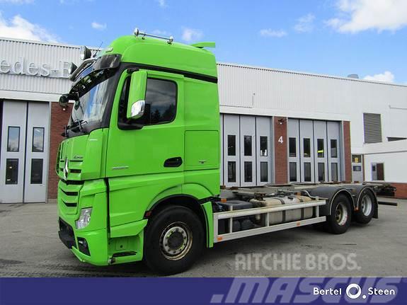 Mercedes-Benz Actros 2653L DNA EURO 6 , Bussbygg Containerramme