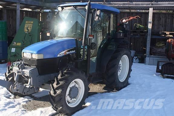 New Holland T N75 D