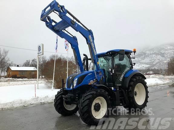 New Holland T6.175 DC - Tip traktora: Poljoprivredni traktor, Pogon: 4 WD, Cilindri: 4 cil., Snaga motora: 129 kW (175 KS), - Mascus Hrvatska.
