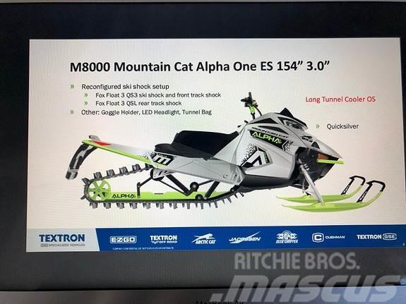 Arctic-cat MOUNTAIN CAT 8000 ALPHA ONE ES