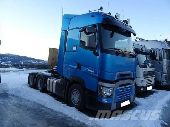 used renault t 520 6x2 tractor units year 2015 price 85 377 for sale mascus usa. Black Bedroom Furniture Sets. Home Design Ideas