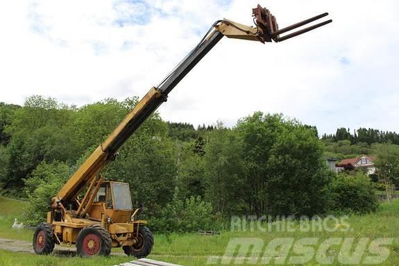 Sanderson T2-11.40S teleskoptruck m/hydrauliske pallegafler