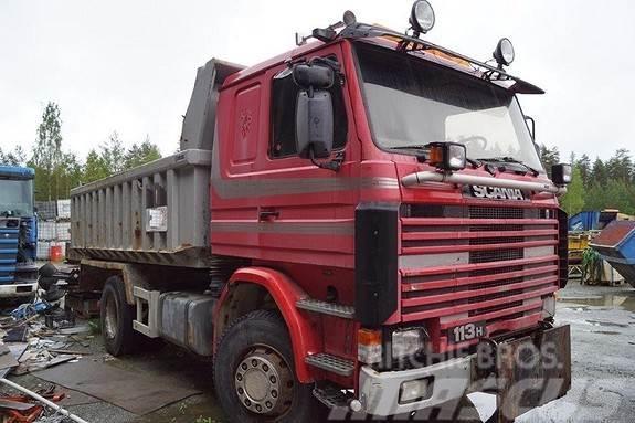 Scania 113 Brøyteriget tippbil