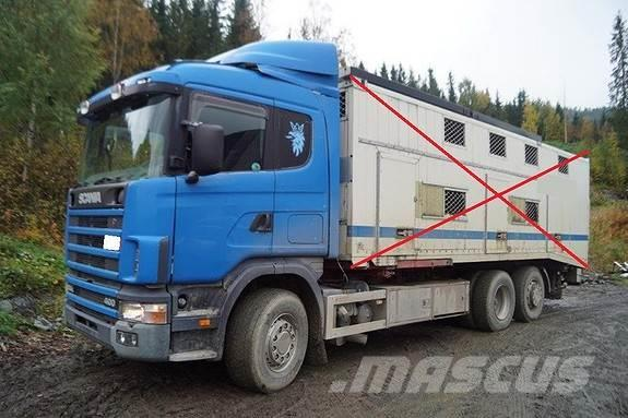 Scania 124 6x2 Chassi