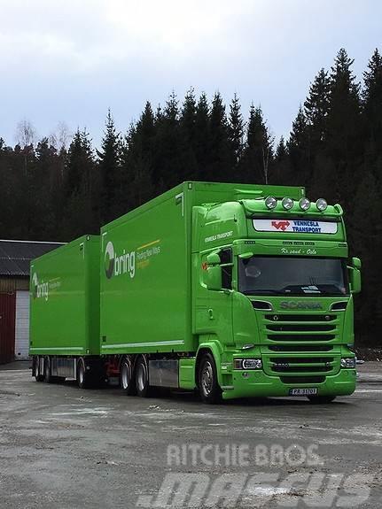 Scania R 580 6x2. 17 pll bil og 21 pll henger fra Ekeri m