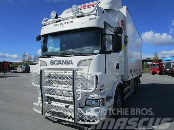 Scania R 620 6x4 bussbyggskap