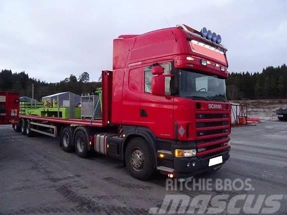 Scania R164 580 EU-godkjent