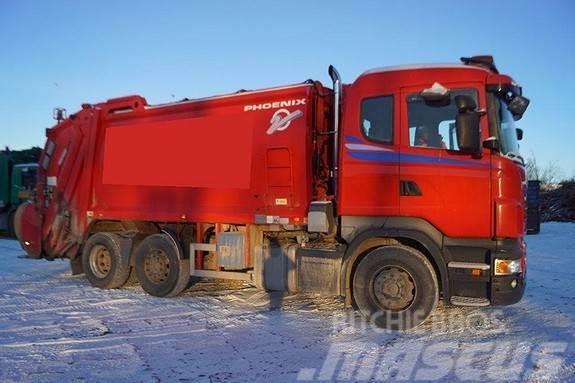 Scania R380 1 kammer komprimatorbil