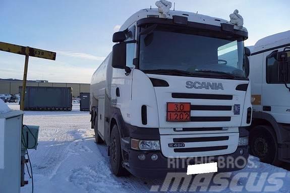 Scania R480 6x2 tankbil (godkjent)