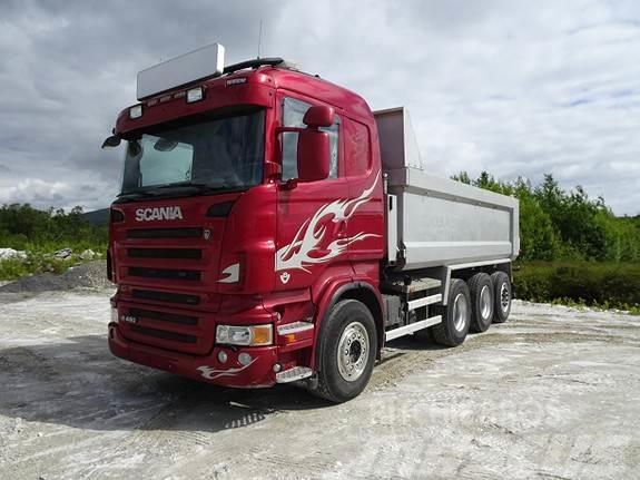 Scania R480LB8x4*4NA