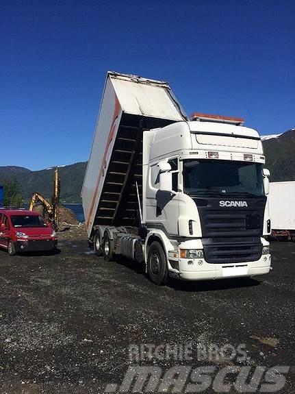 Scania R500 6x2 flisbil m/henger fra 2002