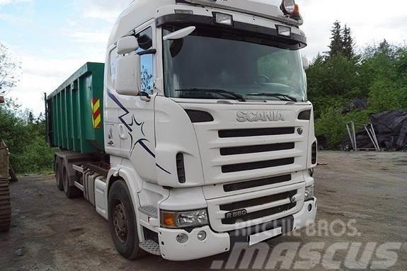 Scania R500 krokløft med ny girkasse