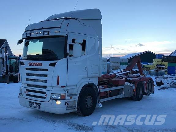 Scania R500LB6x2NB m/Multilift