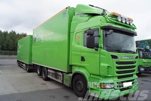 Scania R560 m/2006 mod henger (kjøl/frys)