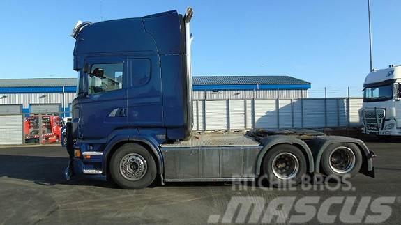 Scania R560 V8 6X2 Trekkvogn med tvillingboggi, automat,