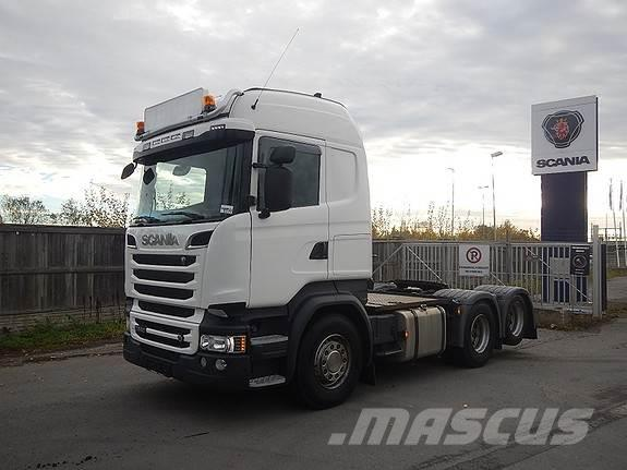Scania R580 6x2, aa 3300, trekkvogn,