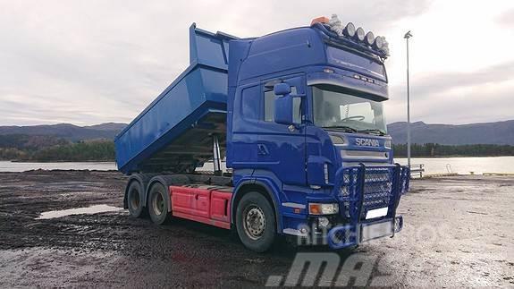 Scania R580 6x2 kombibil Trekk-tippbil