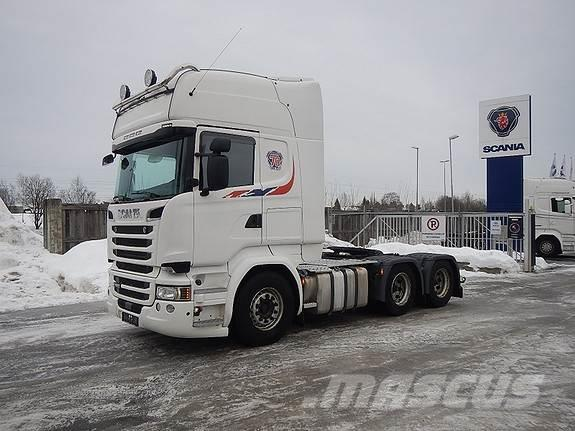 Scania R580 6x4, aa 3100, trekkvogn,