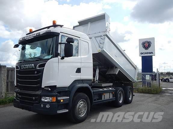 Scania R580 6x4, aa 3300, dumper,