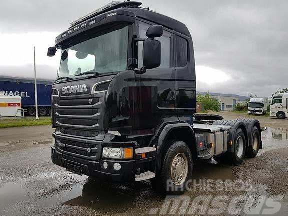 Scania R580 6X4 med hydraulikk