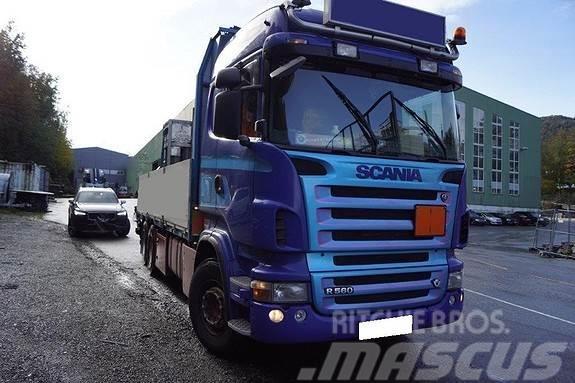 Scania R620 6x2 planbil m/19 t/m kran