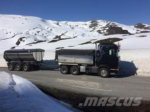 Scania R620 CB6X4HZ MED ISTRAIL ISOLERT DUMPERSKASSE 2013