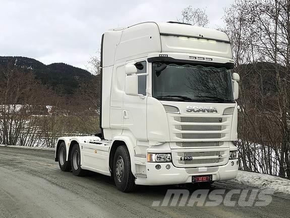 Scania R730, 2016 modell, 334000km, streamline Topline, k