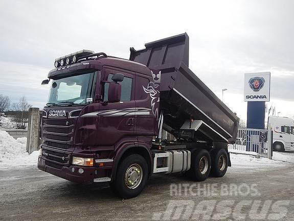 Scania R730 6x4, aa 3300, dumper