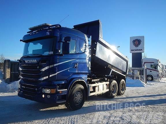 Scania R730 6x4, aa 3300, dumper,