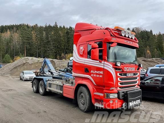 Scania R730LB6X4HNB Med Joab Camelont og krok + Brøyteust