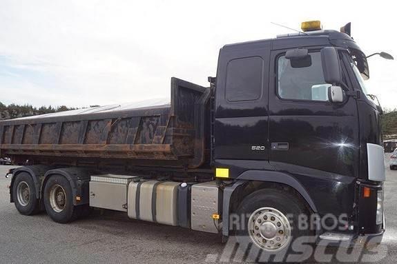 Volvo FH 520 6x4 krokbil m/gruskasse EU-OK til 31.03.201