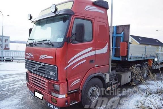 Volvo FH12 kombilbil-betongbil-tippbil-trekkvogn