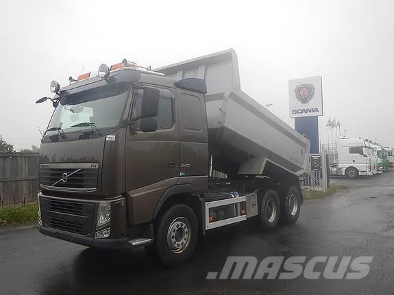 Volvo FH540 6x4, aa 3400, dumper,