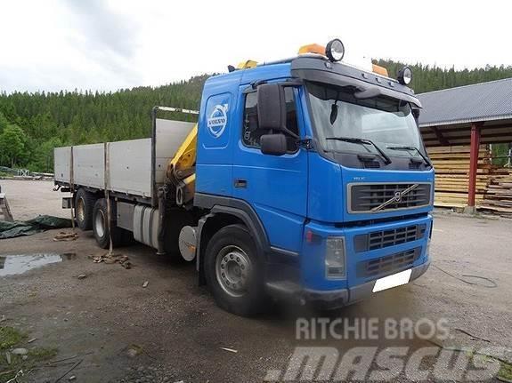 Volvo FM9 m/Effer 16.6 T/M kran