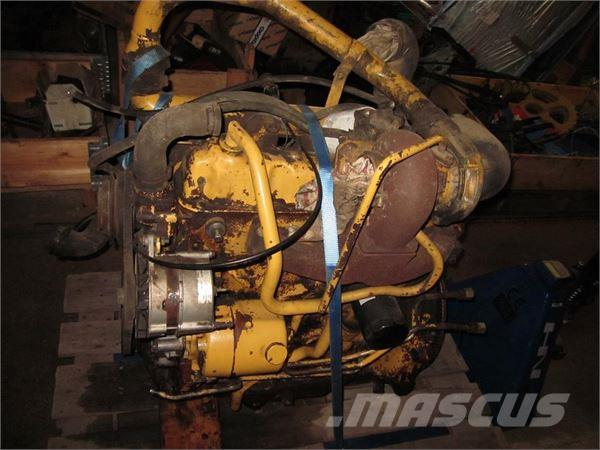 Ford 4 Cyl Motor 6810/675D Turbo