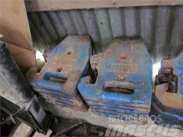 Ford 1910 33 kg vægte