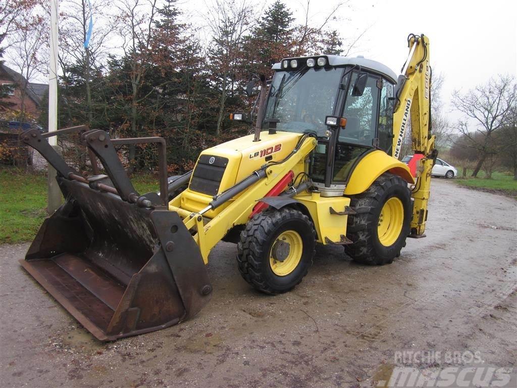 New Holland LB 110B 4-PT.