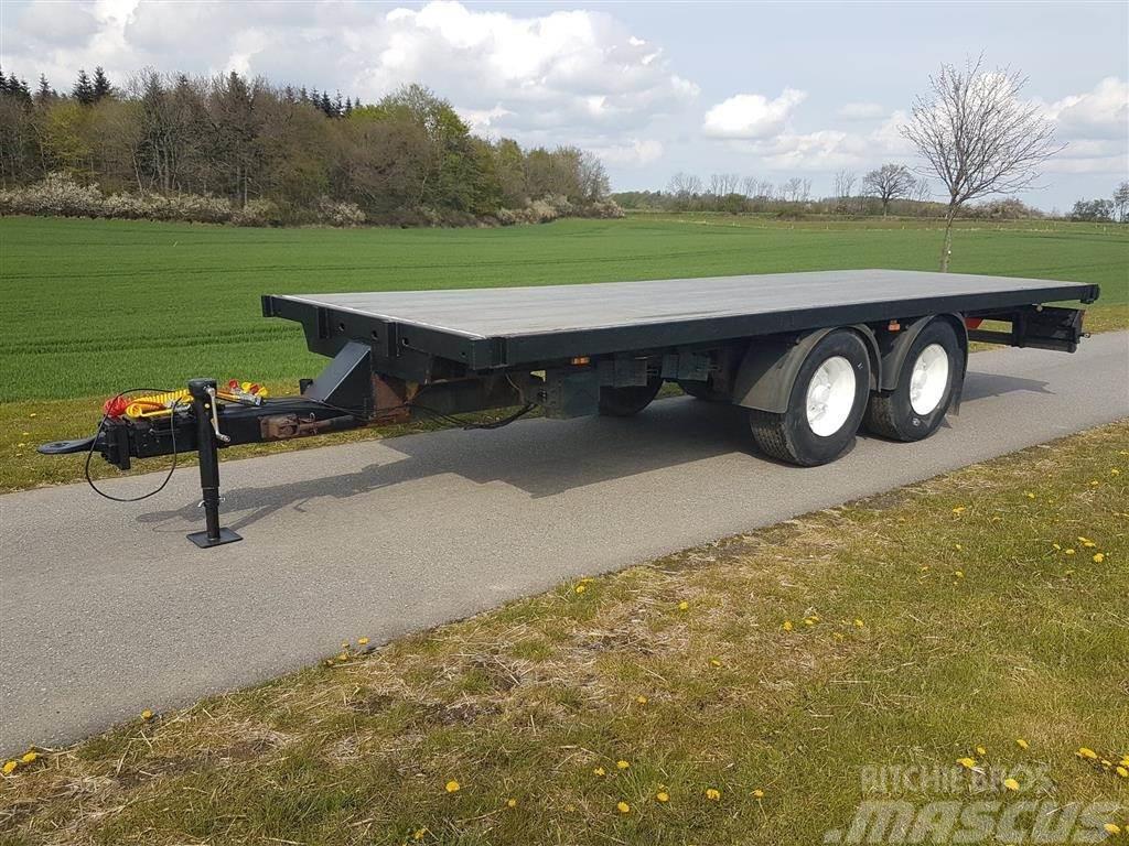 [Other] Halmvogn 7,5 m med luft affjedring og luft bremser