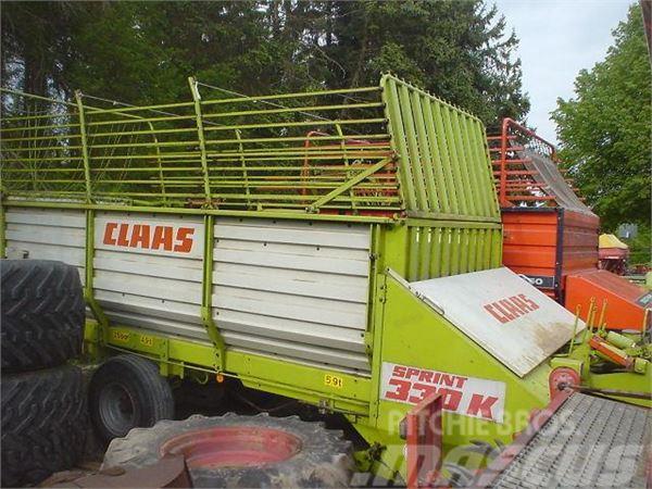 CLAAS Sprint 330 K, ordentlicher Zustand