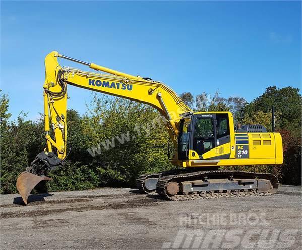 Komatsu PC210 LC 10 2013 Crawler Excavators