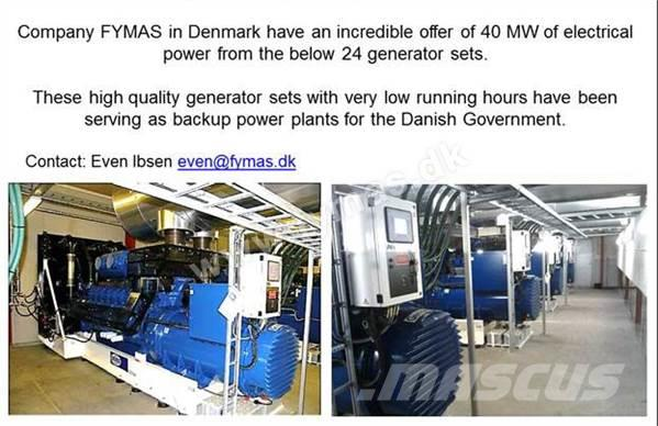 [Other] ABC 40 MW - 24 generator sets with low hours