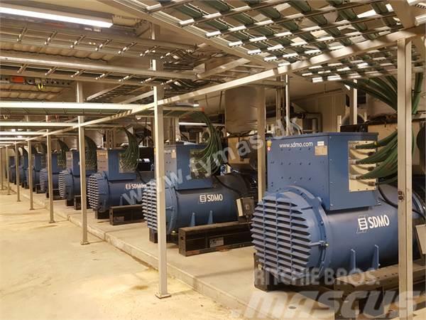 Sdmo 9 units x 1680 kW / 2100 kVA