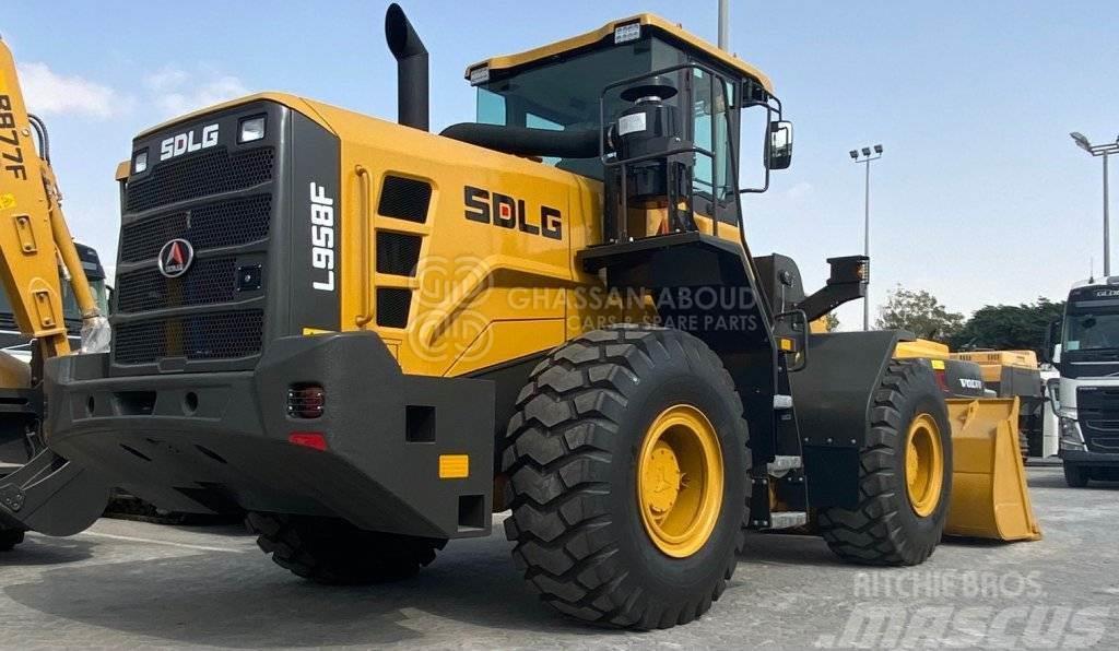 SDLG L958F – HEAVY DUTY WHEEL LOADER, OPERATING W