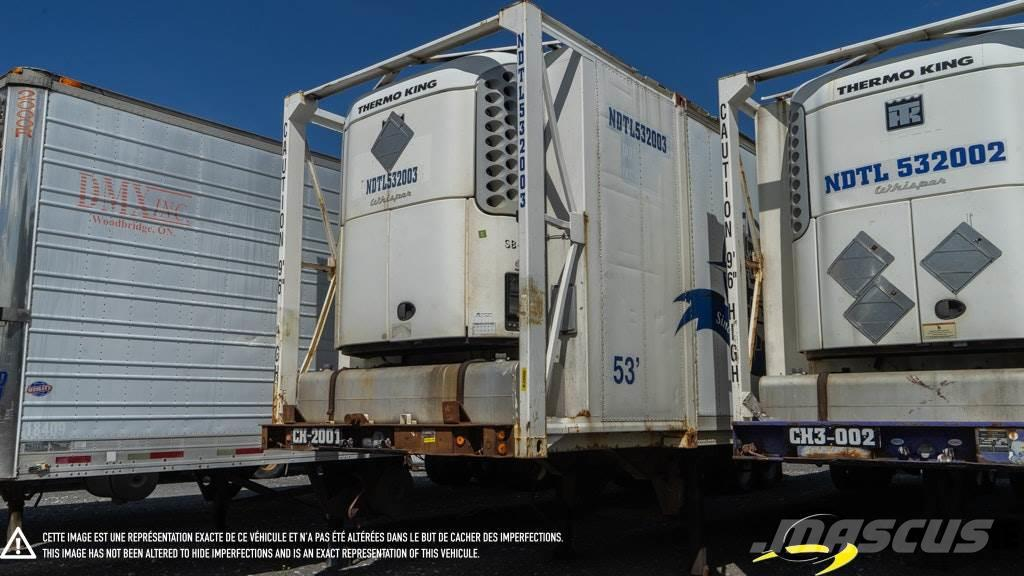 Strick CONTAINER TRAILER 53' 2 AXLES