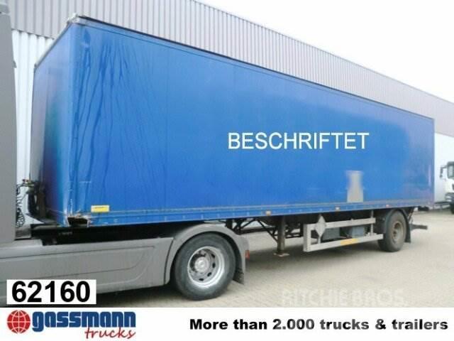 Ackermann ACS / 9/10.1E, 1992, Semirremolques de carrocería de cajas
