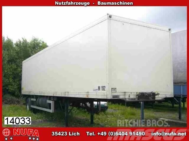 Ackermann - / VTS 10/10.1 ZL, 1995, Skåptrailer Kyl/Frys/Värme