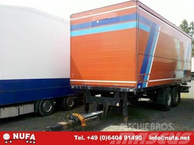 Ackermann Z-PA-F / 18/7,3 EL, 2001, Skåpsläp