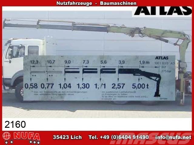 Atlas 100.1-9,0/3 (A3) Kran 9 m - 1.040 kg