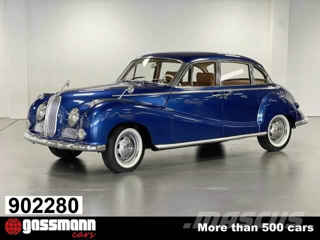 BMW 502 2.6 Ltr. Limousine, einer der letzt gebauten
